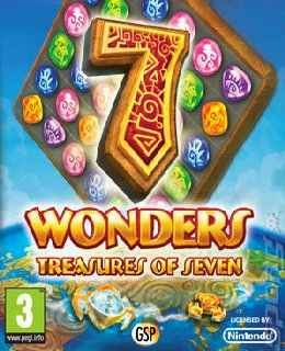 7 Wonders: Treasures of Seven cover new