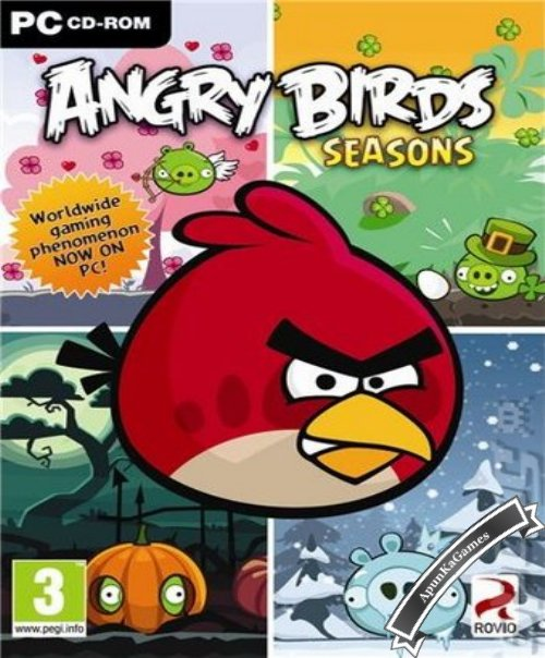 Angry Birds Seasons / cover new