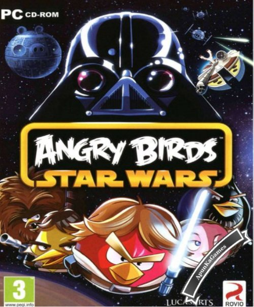 Angry Birds Star Wars 1 / cover new