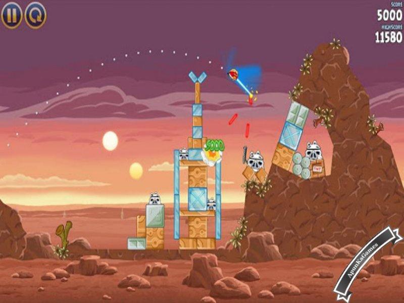 Angry Birds Star Wars 1 Screenshot photos 1