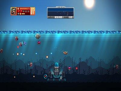 Aqua Kitty: Milk Mine Defender Screenshot Photos 1