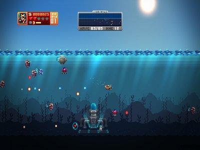 Aqua Kitty: Milk Mine Defender Screenshot Photos 1