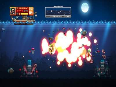 Aqua Kitty: Milk Mine Defender Screenshot Photos 2