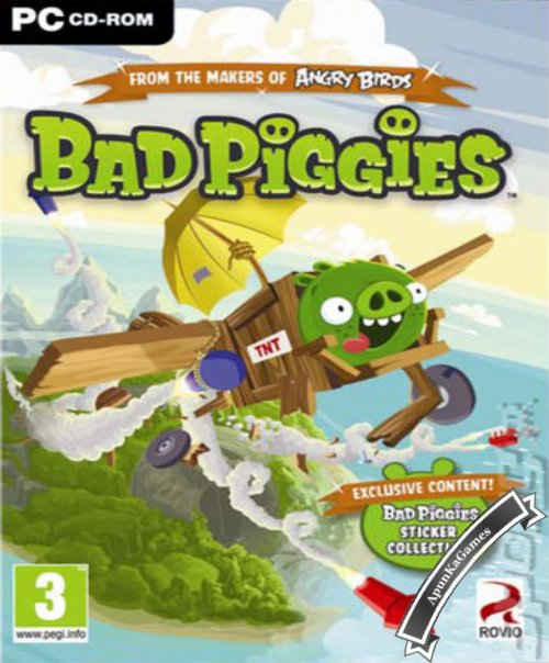 Bad Piggies / cover new