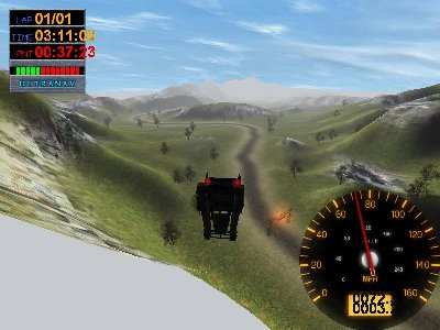 Big Rigs: Over the Road Racing Screenshot Photos 2