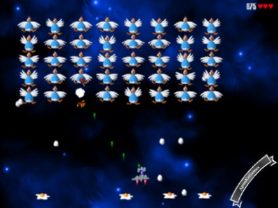 Chicken Invaders 2 Screenshot photos 1