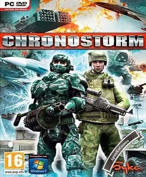 Chronostorm: Siberian Strike cover new
