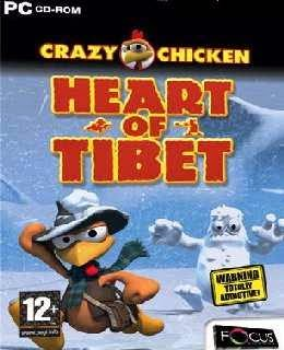 Crazy Chicken: Heart of Tibet cover new