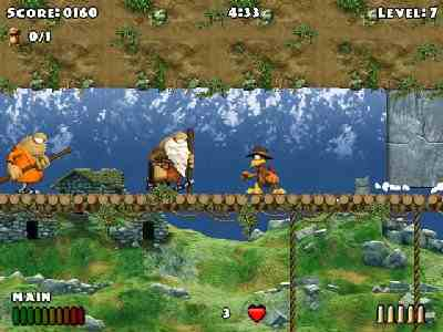 Crazy Chicken: Heart of Tibet Screenshot Photos 3