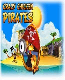 Crazy Chicken: Pirates cover new