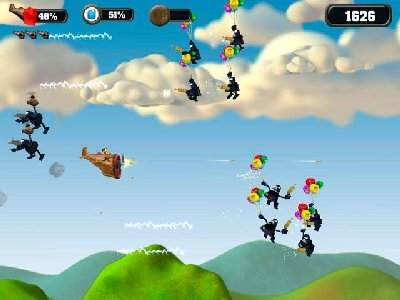 Crazy Chicken Sky Botz Screenshot Photos 2
