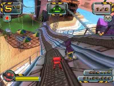Crazy Frog Racer 2 Screenshot Photos 2
