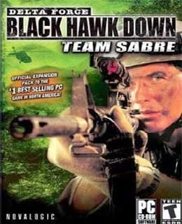 Delta Force Black Hawk Down Team Sabre cover new
