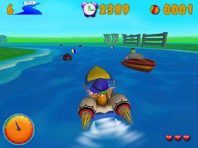 Dino Speedboat Screenshot Photos 1