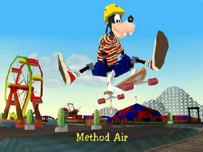 Disney's Extremely Goofy Skateboarding Screenshot Photos 2