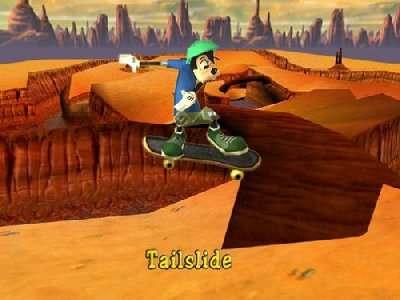 Disney's Extremely Goofy Skateboarding Screenshot Photos 3