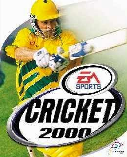 EA Sports Cricket 2000 cover new