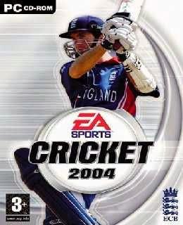 EA Sports Cricket 2004 cover new