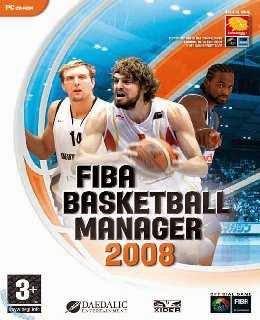 FIBA Basketball Manager 2008 cover new