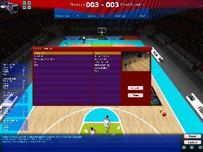FIBA Basketball Manager 2008 Screenshot Photos 1