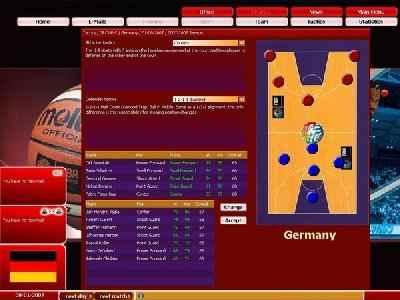 FIBA Basketball Manager 2008 Screenshot Photos 2