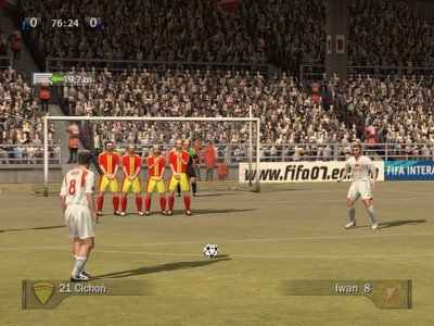 FIFA 07 Screenshot Photos 2