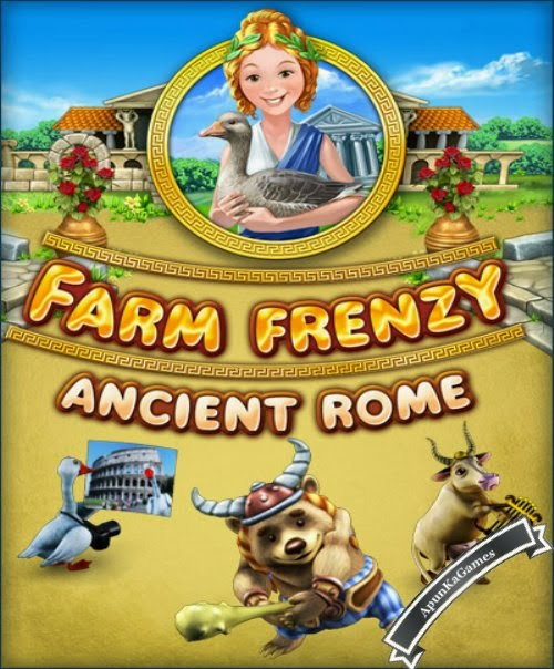 Farm Frenzy Ancient Rome / cover new