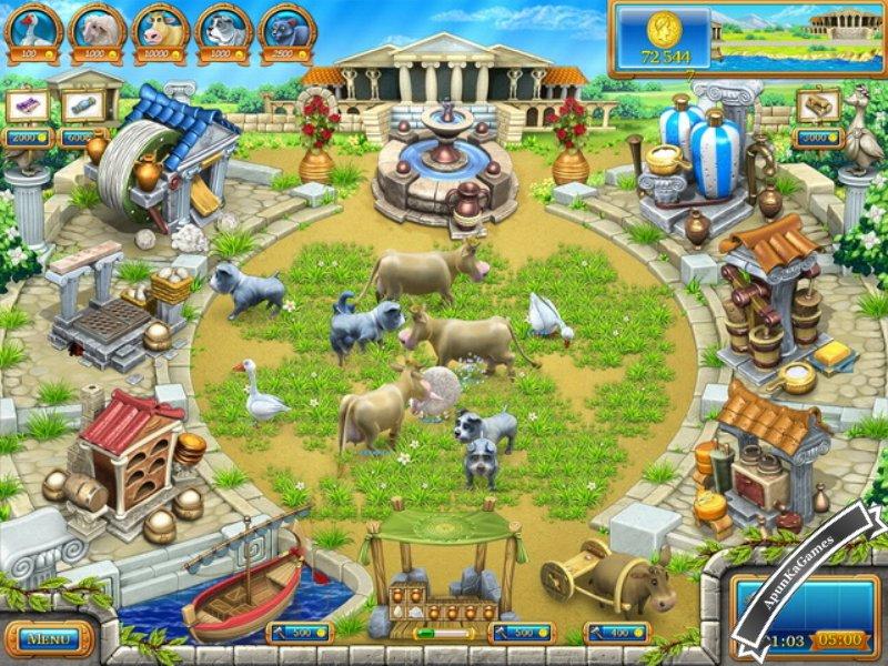 Farm Frenzy Ancient Rome Screenshot photos 1