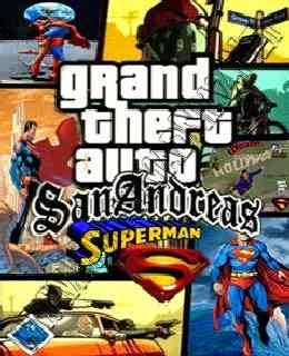 GTA San Andreas Superman MOD cover new