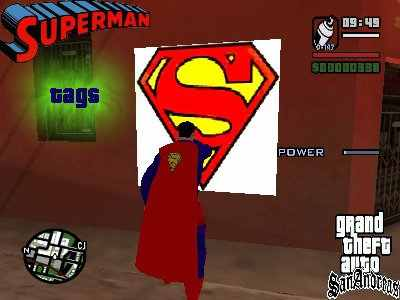 GTA San Andreas Superman MOD Screenshot Photos 1