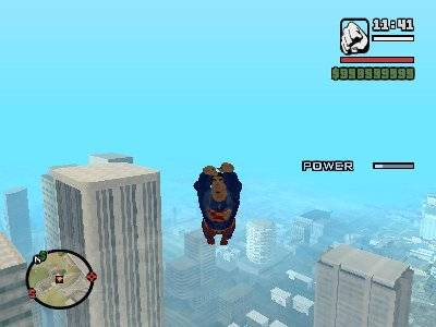 GTA San Andreas Superman MOD Screenshot Photos 2