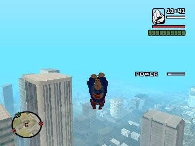 GTA San Andreas Superman MOD Screenshot Photos 2