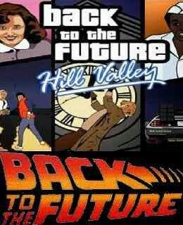 GTA Vice City: Back to the Future Hill Valley cover new