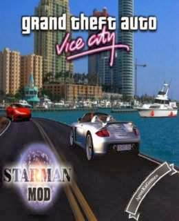 GTA: Vice City Starman MOD / cover new