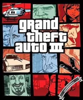 Grand Theft Auto 3 (GTA 3) / cover new