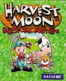 Harvest Moon: Back to Nature cover new