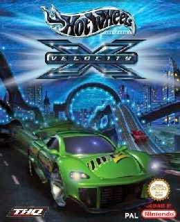 Hot Wheels Velocity X cover new