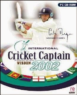 International Cricket Captain 2002 cover new