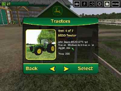 John Deere Drive Green Screenshot Photos 3