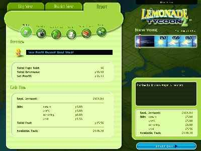 Lemonade Tycoon 2: New York Edition Screenshot Photos 2