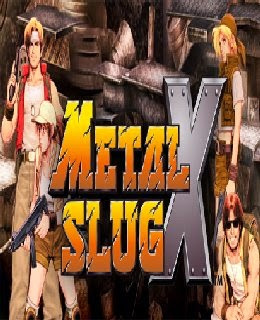 Metal Slug X / cover new