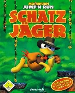 Moorhuhn Jump'n Run Schatz Jager cover new