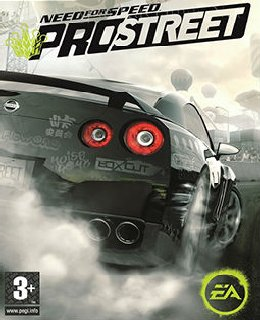 Need for Speed: ProStreet cover new