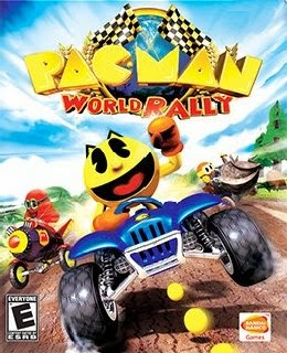 Pac-Man World Rally cover new