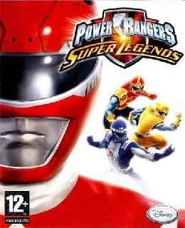 Power Rangers Super Legends cover new