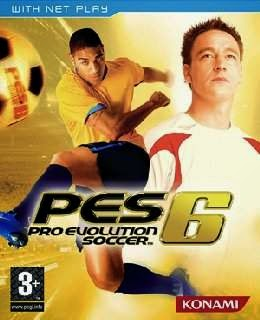 Pro Evolution Soccer 6 cover new