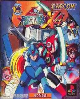 Rockman X4 cover new