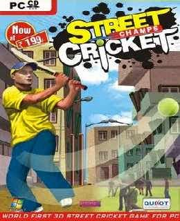 Street Cricket 2010 cover new
