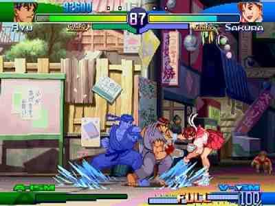 Street Fighter Alpha 3 Screenshot Photos 1