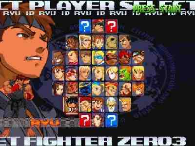 Street Fighter Alpha 3 Screenshot Photos 2